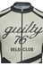 guilty 76 racing Velo Club Pro Race Jersey korte mouwen grijs